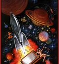 Freas Frank Kelly AHSI05 The Super Hugos D50