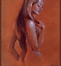 Freas Frank Kelly AHSI89 Blue Nude D50