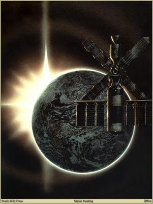 QMan FKF AHSI 1696 Skylab Painting
