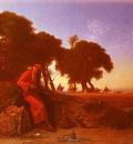 Frere Charles Theodore An Arab Encampment