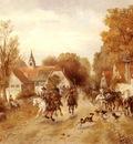 Friedlander Alfred Ritter von Malheim The Approaching Cavalry