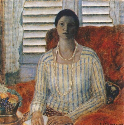 frieseke closed blinds
