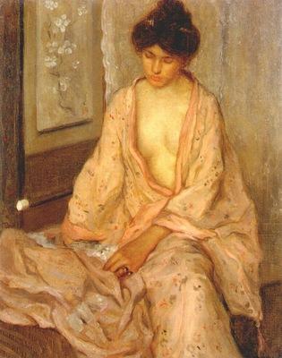 frieseke femme en rose