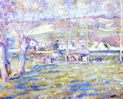 frieseke giverny winter