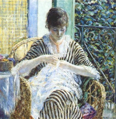 frieseke on the balcony c1912