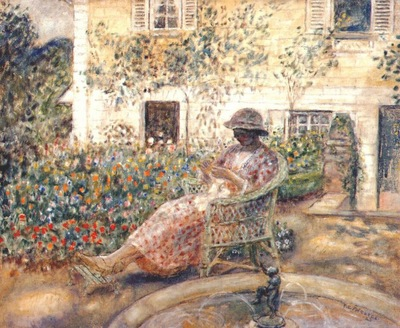frieseke the fountain