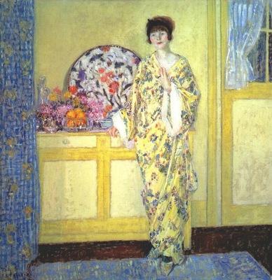 frieseke the yellow room c1913