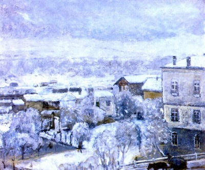 frieseke winter landscape
