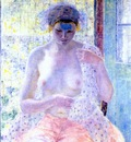 frieseke nude in the window