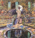 frieseke the garden c1915