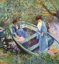 frieseke under the willows