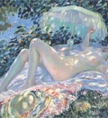 frieseke venus in the sunlight
