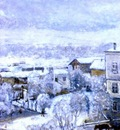 frieseke winter landscape