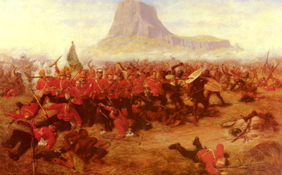 Fripp Charles edwin The Battle Of Isandhlwana