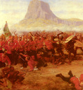Fripp Charles edwin The Battle Of Isandhlwana