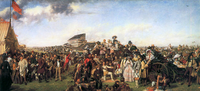 Frith William Powell The day of the derby Sun