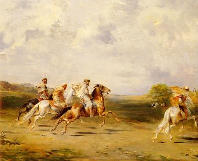 Fromentin Eugene Arab Horsemen