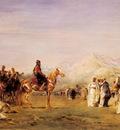 Fromentin Eugene Arab Encampment In The Atlas Mountains