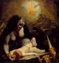 Fussli The Night Hag Visiting the Lapland Witches c  1796 Oi