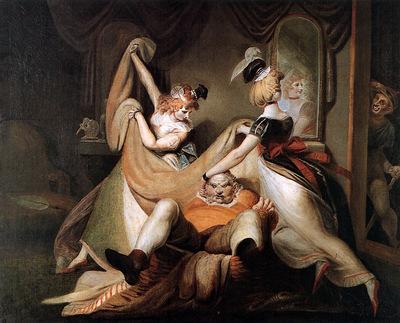 Fussli Johann Falstaff in bath Sun