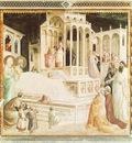Gaddi,T  Presentation of Mary in the temple, 1327 30, Fresk,