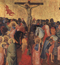 Gaddi The Crucifixion, 1390 96, tempera on wood, Galleria de