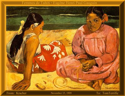 CU090 Kracher Gauguin