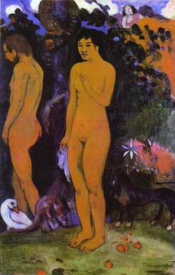 Gauguin Adam And Eve