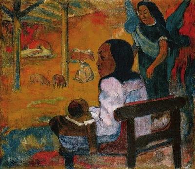 Gauguin Baby, 1896, Eremitaget