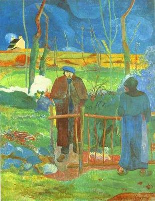 Gauguin Bonjour, Monsieur Gauguin
