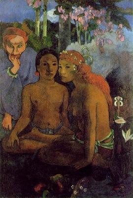 Gauguin Contes barbares, 1902, 130x89 cm, Museum Folkwang, E