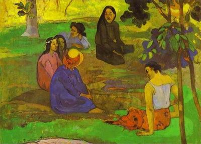 Gauguin Les Parau Parau Conversation