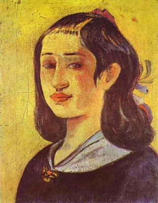 Gauguin Portrait Of Mother