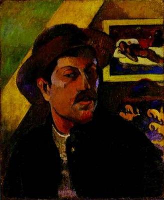 gauguin self portrait 1893