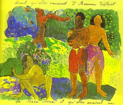 Gauguin The Messengers Of Oro
