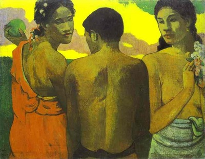 Gauguin Three Tahitians
