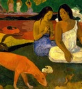 amusement, gauguin, 1892 1600x1200 id