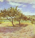 Gauguin Apple Trees In Blossom