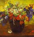 Gauguin Bouquet Of Flowers
