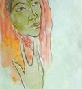 Gauguin Head Of A Woman