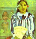 Gauguin Merahi Metua No Tehamana Ancestors Of Tehamana