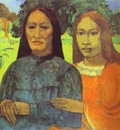 Gauguin Mother And Daughter