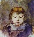 Gauguin Portrait Of GauguinS Daughter Aline