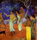 Gauguin Scenes From Tahitian Life