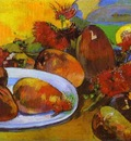 Gauguin Still Life With Mangoes