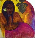 Gauguin Tahitian Woman