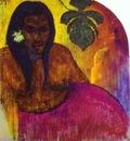 Gauguin Tahitian Woman