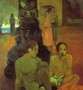 Gauguin The Great Buddha