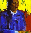 Gauguin Vahine No Te Tiare Woman With A Flower