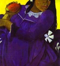 Gauguin Vahine No Te Vi Woman With A Mango